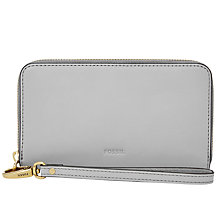 Buy Fossil Emma Leather Smartphone Wristlet Purse Online at johnlewis.com