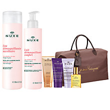 Buy NUXE Micellar Cleansing Water with Rose Petals, 200ml and NUXE Cleansing Milk with Rose Petals, 200ml: With FREE Gift Online at johnlewis.com