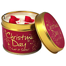 Buy Lily-Flame Christmas Day Scented Candle Tin Online at johnlewis.com