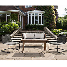 Buy John Lewis Matrix 2-Seater Sofa, Coffee Table & Easy Chairs (x2), FSC-certified (Acacia) Online at johnlewis.com
