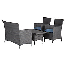 Buy John Lewis Malaga 2-Seat Sofa, 2-Seat Coffee Table & Armchairs (x2), Grey Online at johnlewis.com
