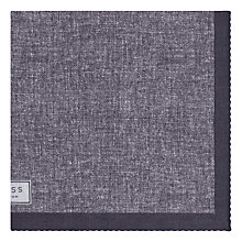 Buy Reiss Walsh Printed Linen Pocket Square Online at johnlewis.com