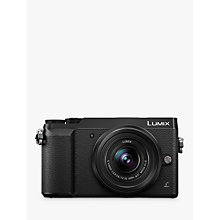 "Buy Panasonic LUMIX DMC-GX80 Compact System Camera with 14-32mm Interchangable Lens, 4K Ultra HD, 16MP, 4x Digital Zoom, Wi-Fi, 3"" LCD Touchscreen Free-Angle Monitor Online at johnlewis.com"