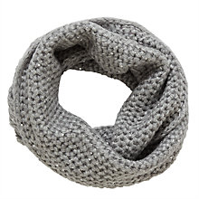 Buy John Lewis Children's Sparkle Snood, Grey Online at johnlewis.com