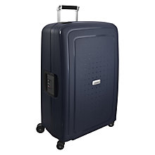 Buy Samsonite S'cure Delux 4-Wheel 75cm Suitcase Online at johnlewis.com