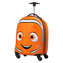 Buy Samsonite Nemo 4 Spinner Wheel 46cm Cabin Case, Orange Online at johnlewis.com