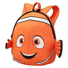Buy Samonsite Nemo S+ Junior Backpack, Orange Online at johnlewis.com