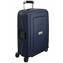 Buy Samsonite S'cure Delux 4-Wheel 55cm Cabin Suitcase Online at johnlewis.com