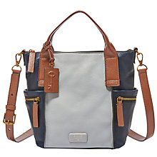 Buy Fossil Emerson Leather Medium Satchel Online at johnlewis.com