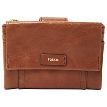 Buy Fossil Ellis Leather Multi-Function Purse Online at johnlewis.com