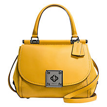 Buy Coach Drifter Leather Satchel Online at johnlewis.com