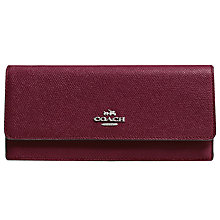 Buy Coach Soft Leather Wallet Online at johnlewis.com