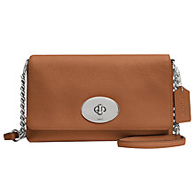 Buy Coach Crosstown Leather Across Body Bag Online at johnlewis.com