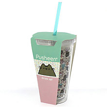 Buy Pusheen Beaker With Straw Online at johnlewis.com