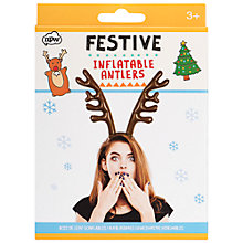 Buy NPW Festive Inflatable Antlers Online at johnlewis.com