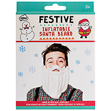 Buy NPW Festive Inflatable Beard Online at johnlewis.com