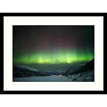 Buy Paul Sanders - Aurora Framed Print, 84 x 64cm Online at johnlewis.com