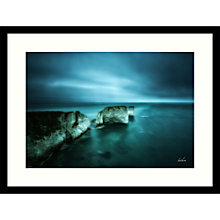 Buy Paul Sanders - Old Harry Framed Print, 84 x 64cm Online at johnlewis.com