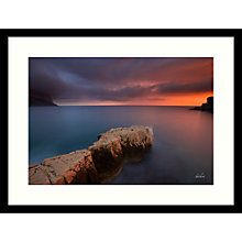 Buy Paul Sanders - Cassis Framed Print, 84 x 64cm Online at johnlewis.com