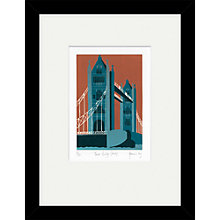 Buy Jennie Ing - Tower Bridge Framed Print, 34 x 44cm Online at johnlewis.com