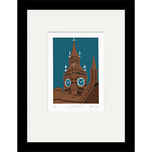 Buy Jennie Ing - Big Ben Sienna Framed Print, 34 x 44cm Online at johnlewis.com