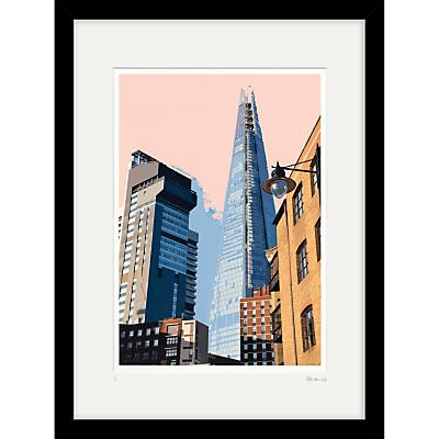 Cath Harries – Limited Edition The Shard Framed Print, 44 x 58cm