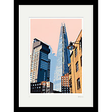 Buy Cath Harries - Limited Edition The Shard Framed Print, 44 x 58cm Online at johnlewis.com