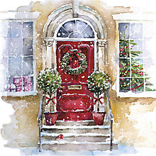 Buy UK Greetings Christmas Door  Charity Christmas Cards, Pack of 8 Online at johnlewis.com