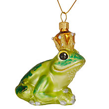 Buy Shangri-La Frog Prince Bauble, Green Online at johnlewis.com