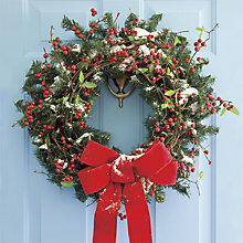 Buy UK Greetings Christmas Wreath Charity Christmas Cards, Pack of 10 Online at johnlewis.com
