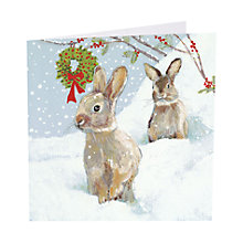 Buy Art Marketing Holly Berries Charity Christmas Cards, Pack of 6 Online at johnlewis.com