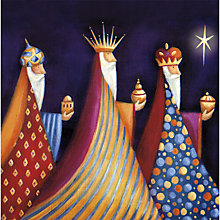 Buy UK Greetings Foiled Three Kings Charity Christmas Cards, Pack of 8 Online at johnlewis.com