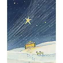 Buy UK Greetings Follow The Star Charity Christmas Cards, Pack of 12, Mini Online at johnlewis.com