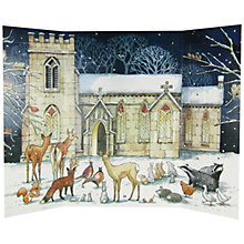 Buy Woodmansterne Ruskin House Twilight Gathering Paper Advent Calendar Online at johnlewis.com
