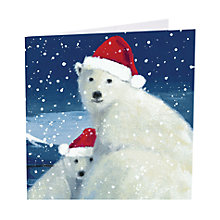 Buy Art Marketing 'Christmas Hugs' Charity Christmas Cards, Pack of 6 Online at johnlewis.com