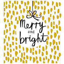 Buy Caroline Gardner Merry And Bright Charity Christmas Cards, Pack of 5 Online at johnlewis.com