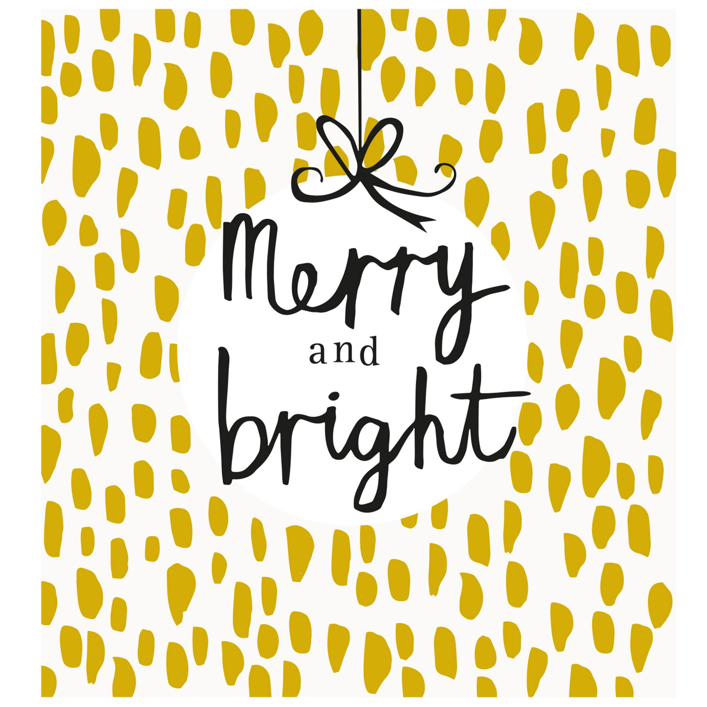 Caroline Gardner Caroline Gardner Merry And Bright Charity Christmas Cards, Pack of 5