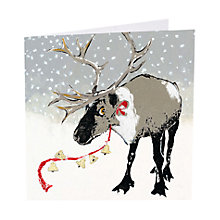 Buy Art Marketing Jingle All The Way Charity Christmas Cards, Pack of 6 Online at johnlewis.com