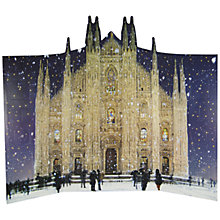 Buy Woodmansterne Milan Cathedral Flitter Advent Calendar Online at johnlewis.com
