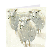 Buy Art Marketing Mistletoe Charity Christmas Cards, Pack of 6 Online at johnlewis.com