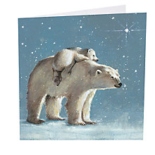 Buy Art Marketing Let It Snow Charity Christmas Cards, Pack of 6 Online at johnlewis.com