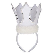 Buy John Lewis Maribou Crown Online at johnlewis.com