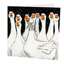 Buy Art Marketing Goosey Gander Charity Christmas Cards, Pack of 6 Online at johnlewis.com