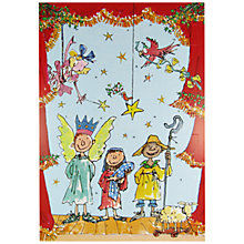 Buy Woodmansterne Quentin Blake Nativity Advent Calendar Online at johnlewis.com