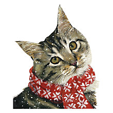 Buy Art Marketing Ollie Charity Christmas Cards, Pack of 6 Online at johnlewis.com