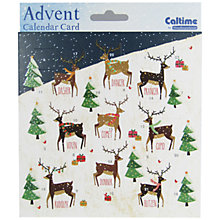 Buy Woodmansterne Grand Tour Santa's Little Helpers  Advent Cards Online at johnlewis.com