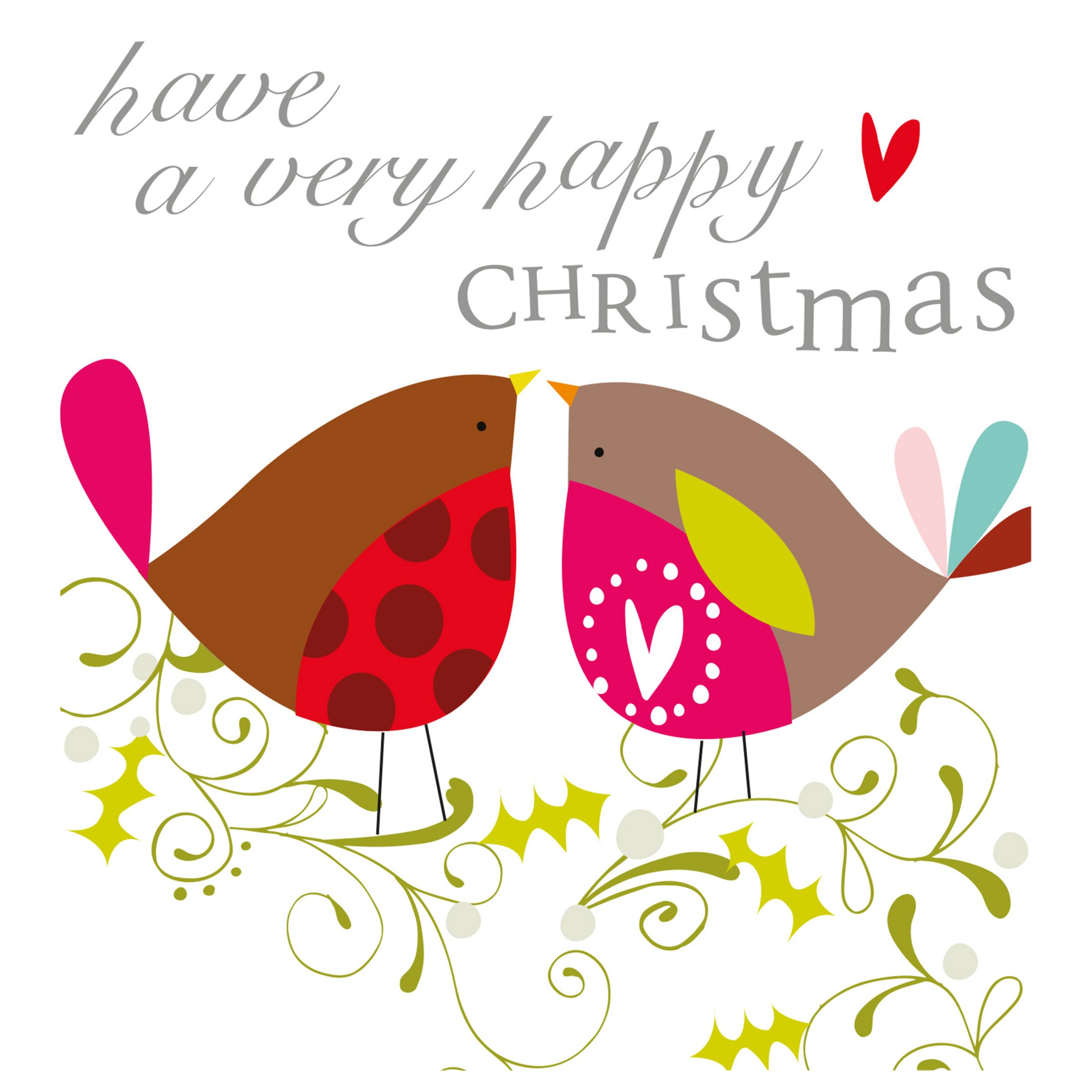 Caroline Gardner Caroline Gardner Robins Charity Christmas Cards, Pack of 5