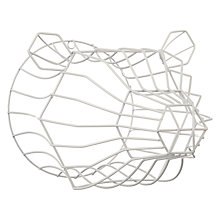 Buy John Lewis Helsinki White Wire Polar Bear Head Online at johnlewis.com