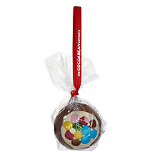 Buy The Cocoabean Company Inclusion Milk Chocolate Bauble, 60g Online at johnlewis.com
