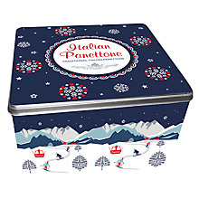 Buy Italian Panettone In Tin, 3kg Online at johnlewis.com